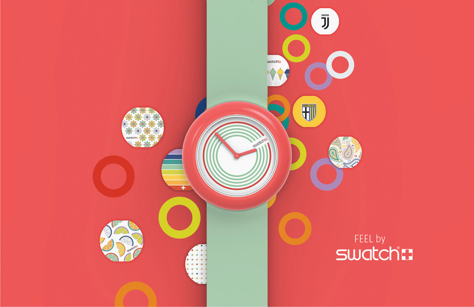 Feel designed for Swatch