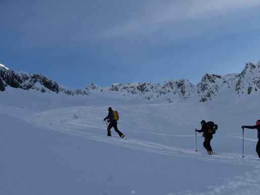 Sattelspitz - Skitour
