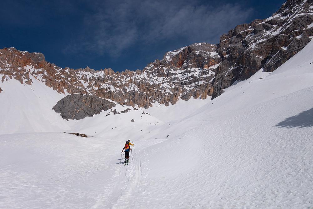 Skitour Hohe Gaisl Umrundung