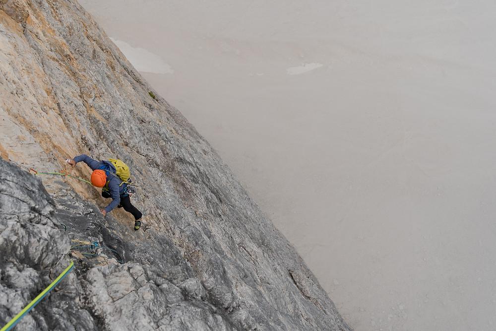 Alpinklettern Drei Zinnen Dolomiten Cassin Westliche Zinne Topo