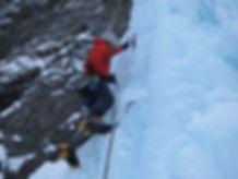 Eisklettern Südtirol Dolomiten Jumbo Jet