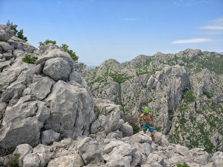 Klettern Paklenica Nationalpark
