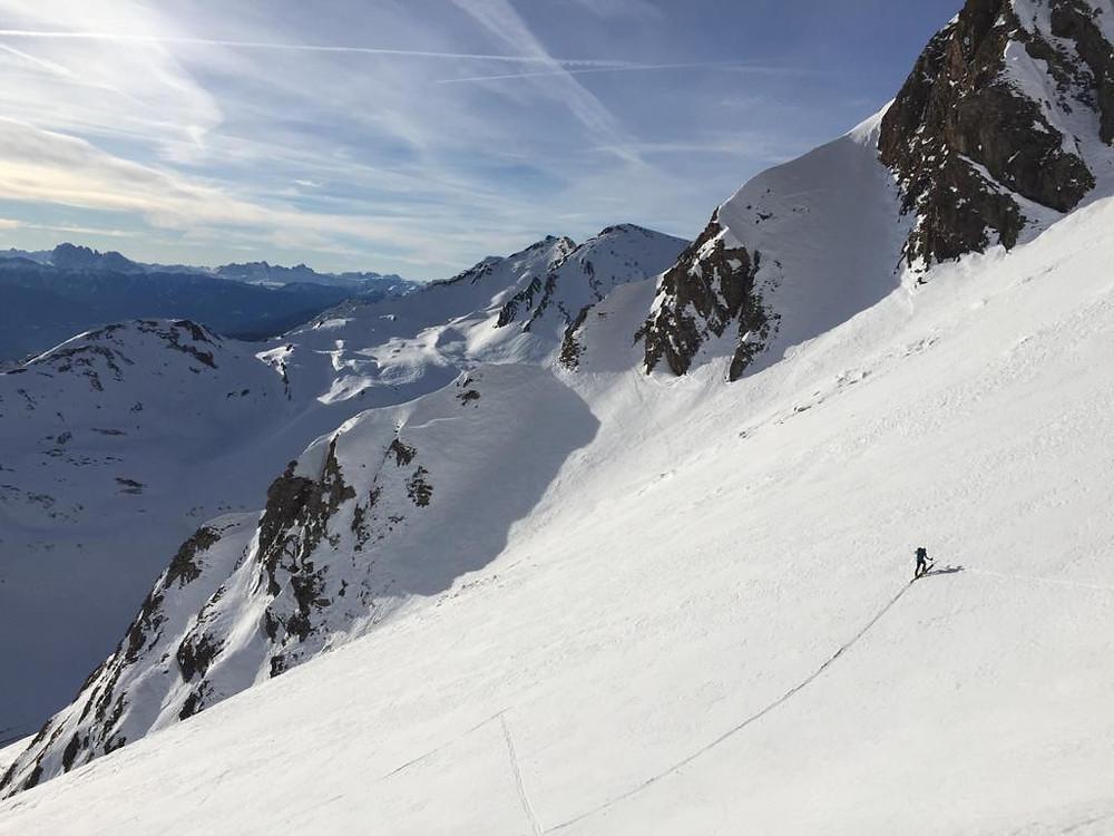 Skitour Pfunderer Berge Vals Südtirol Blickenspitze