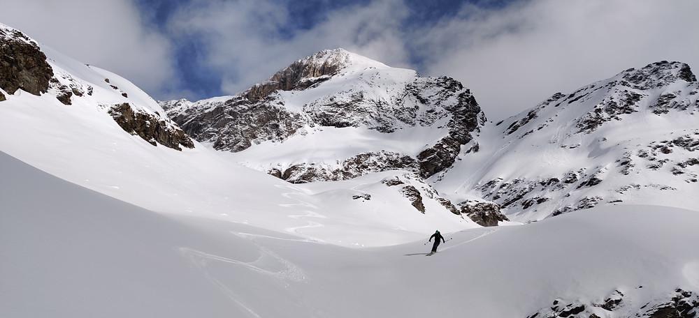 Skitour Südtirol Pflersch Alpenhauptkamm Weisswand