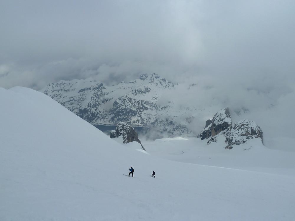 Skitour Marmolada Dolomiten
