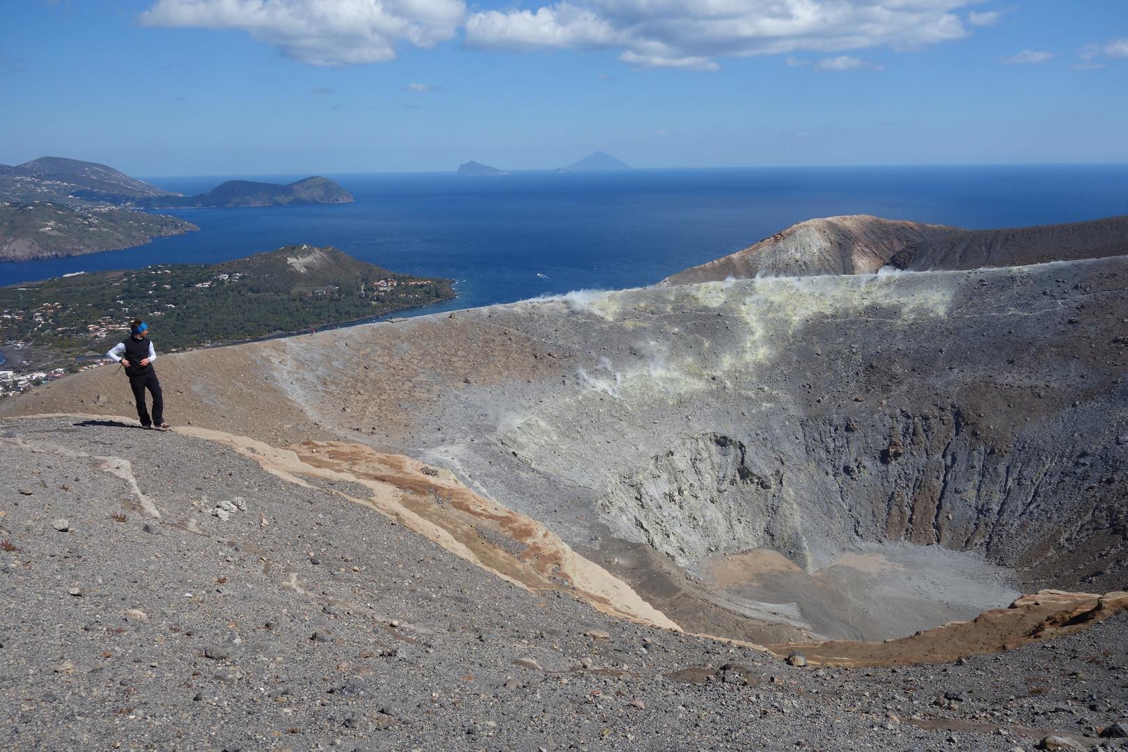 "Die Vulkaninsel ""Vulcano"""