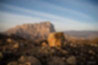 Kletten im Oman
