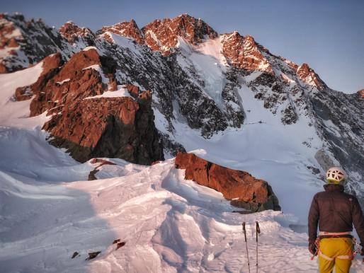 Monte Disgrazia - Nordwand (60°/III)