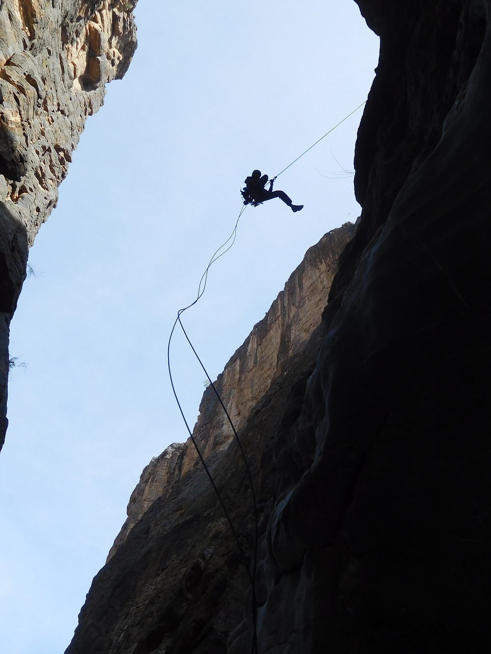 Oman Klettern Alpinklettern Erstbegehung Kletterreise I think it´s cool Al Kumeira Jebel Misht Topo