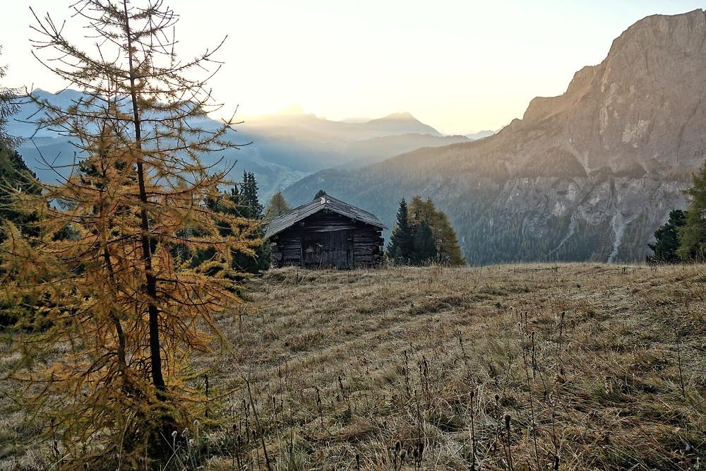 Südtirol Alpinklettern Dolomiten Gröden Adang Sass Ciampac