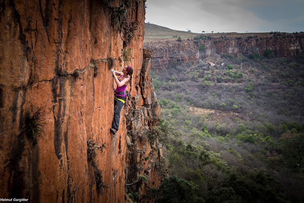 Südafrika Klettern Reise Waterval Boven