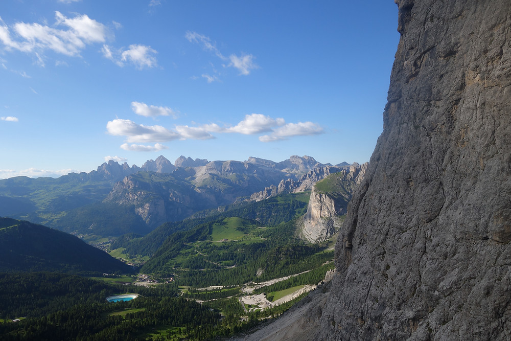 Alpinklettern Dolomiten Zweiter Sellaturm Messner Topo