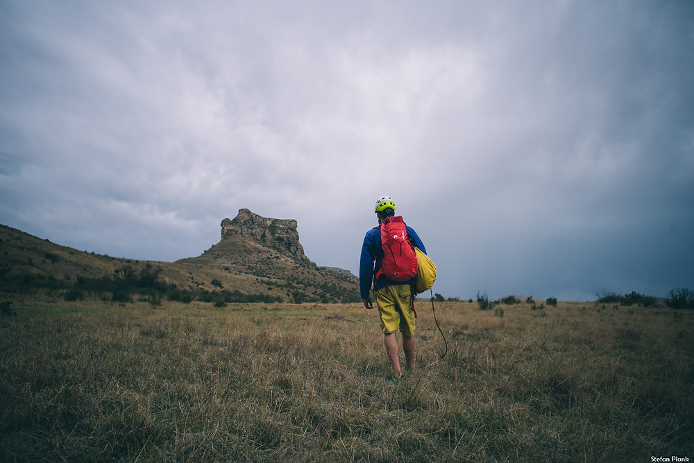Südafrika Klettern Reise Harrismith Mount Everest Farm Mehrseillängen