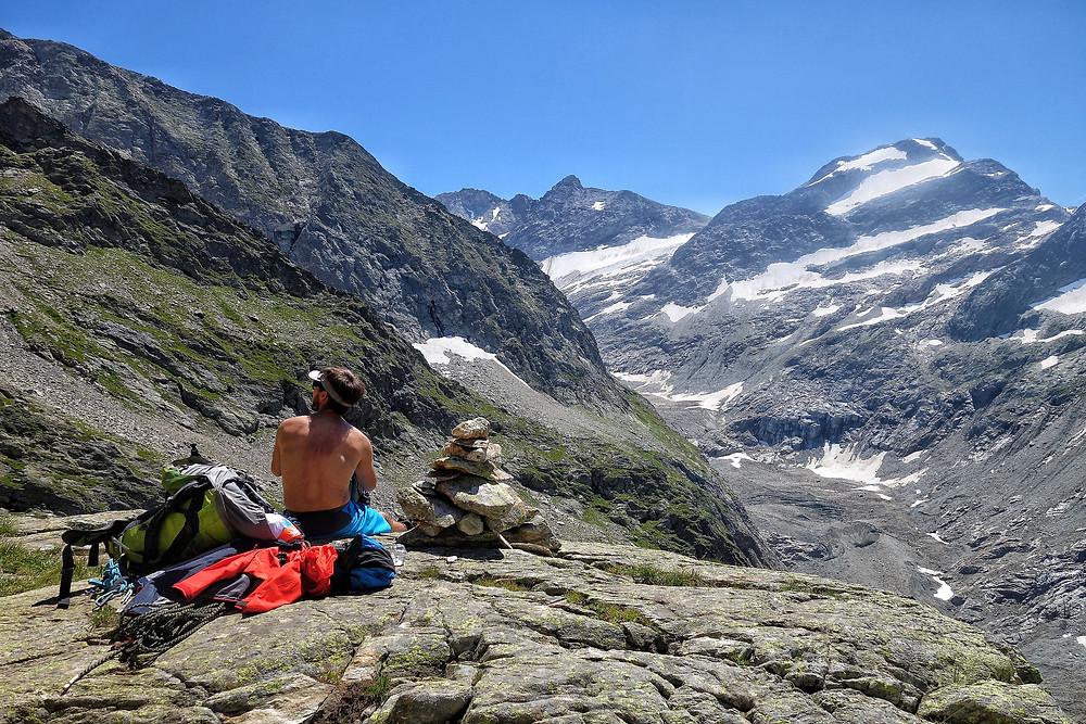Domes du Miage Hochtour Traverse Royal Mont Blanc