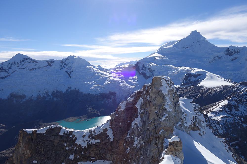 Urus Ishinca Valley Cordillera Blanca Peru