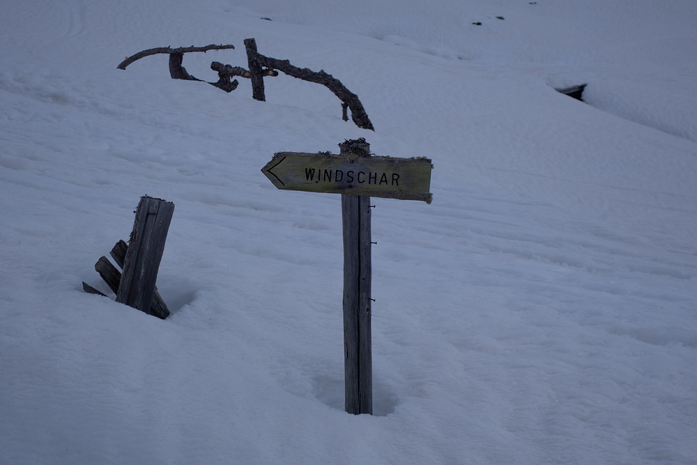 Skitour, Große Windschar, Nordostrinne