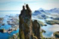 Kletten auf den Lofoten
