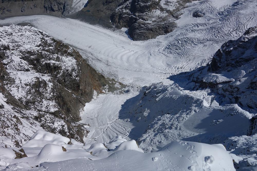 Piz Bernina Biancograt Himmelsleitern Hochtour Graubünden Schweiz