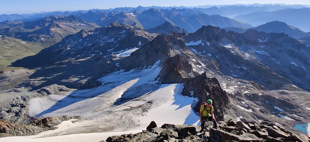 Piz Kesch Keschnadel Hochtour Graubünden