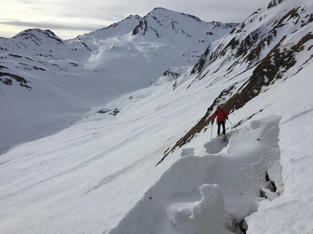 Skitour Südtirol Pfunderer Berge Brixnerhütte Vals Blickenspitze Wilde Kreuzspitze