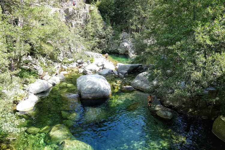 Canyoning im Tavignano