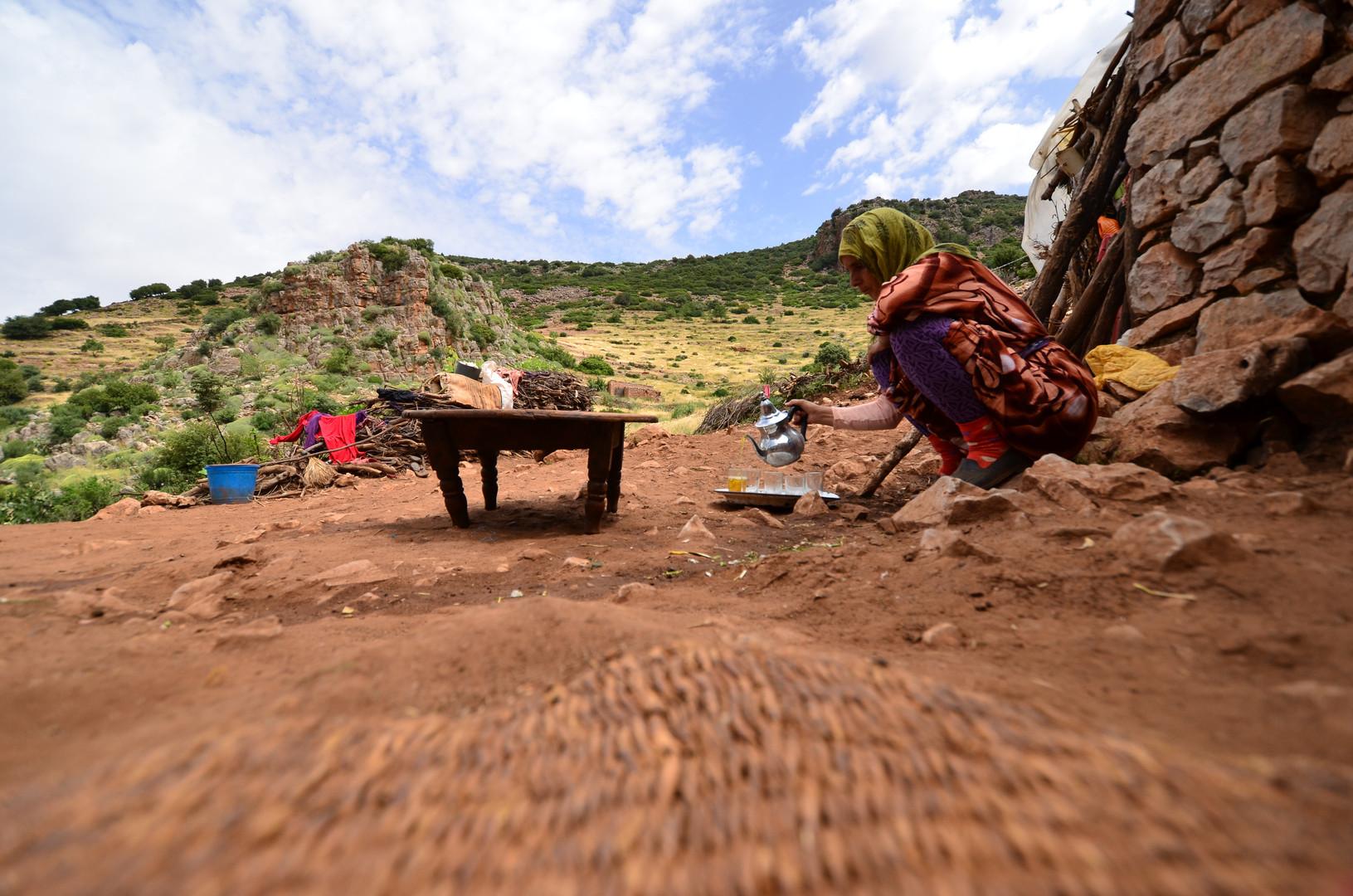 Nationalgetränk der Marokkaner