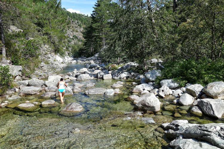 Canyoning im Tavignanotal