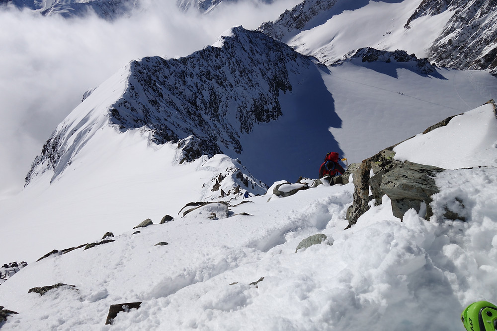 Skitour Ruderhofspitze Franz Senn Hütte