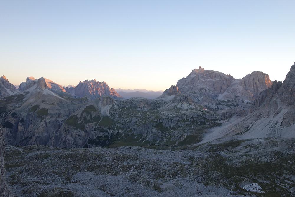 Alpinklettern 3 Zinnen Große Zinne Nordwand Dibonakante