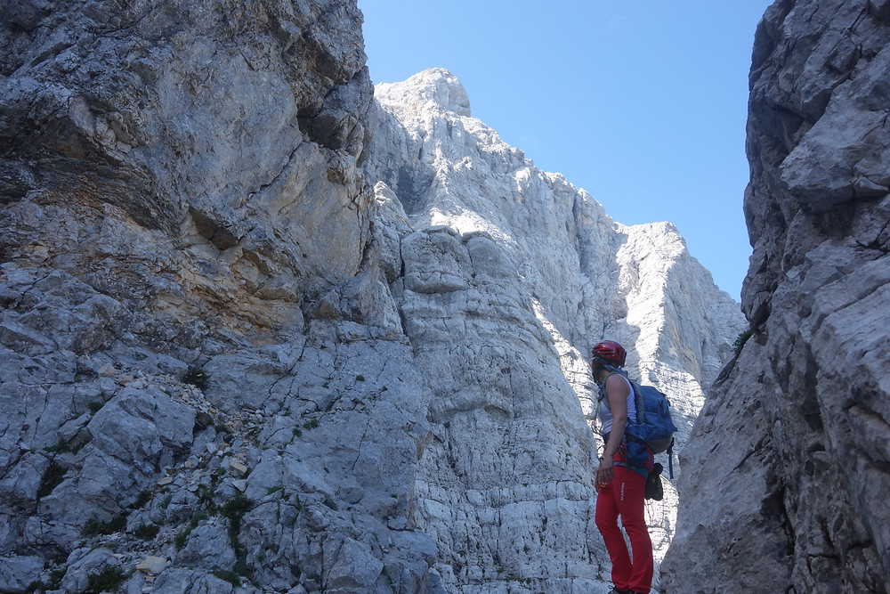 Triglav Slowenischer Weg Topo Routenbeschreibung Nordwand