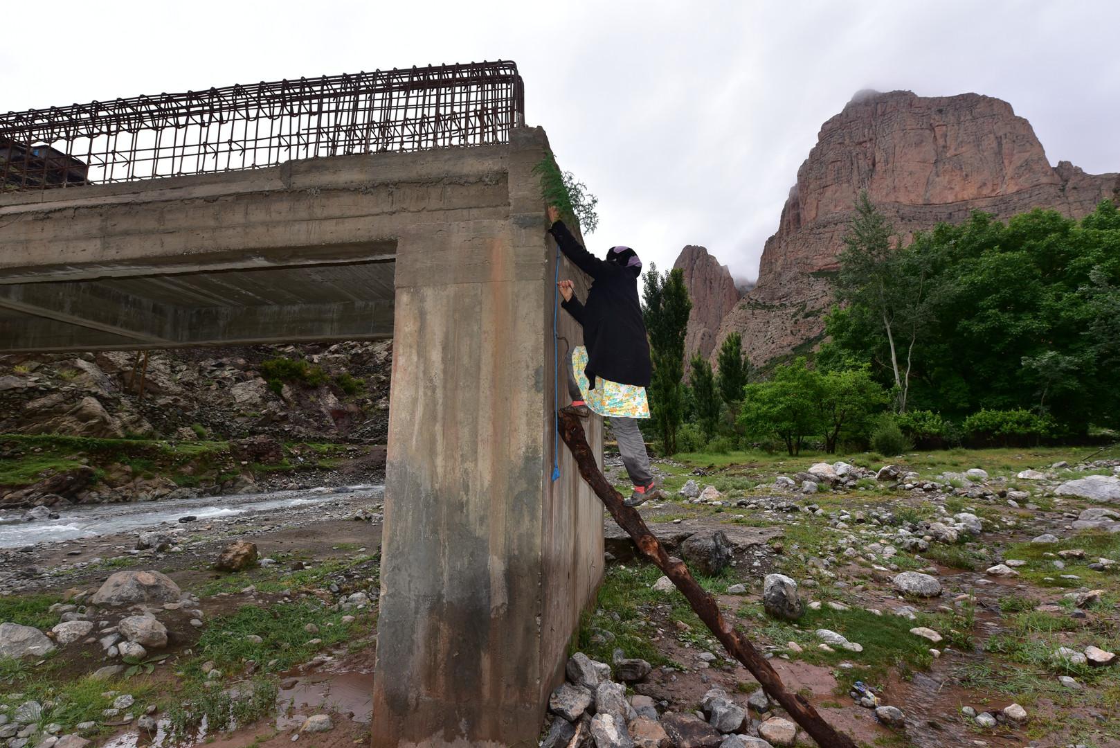Die Brücke in Taghia
