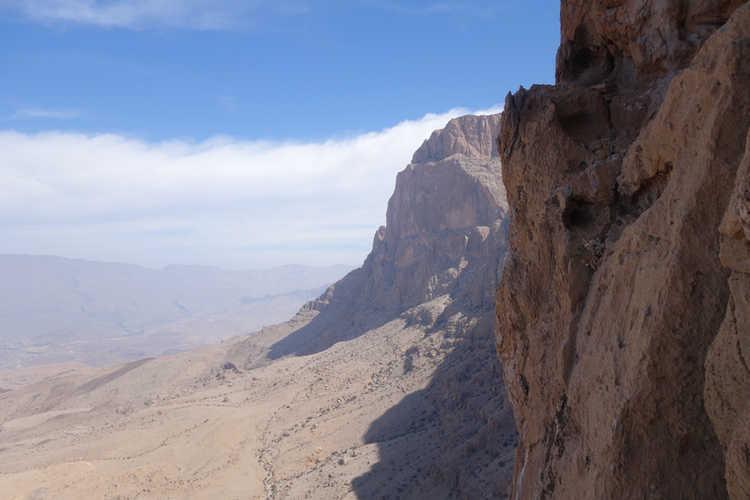 400 Meter Wandhöhe - Nordwand Al Kumeira