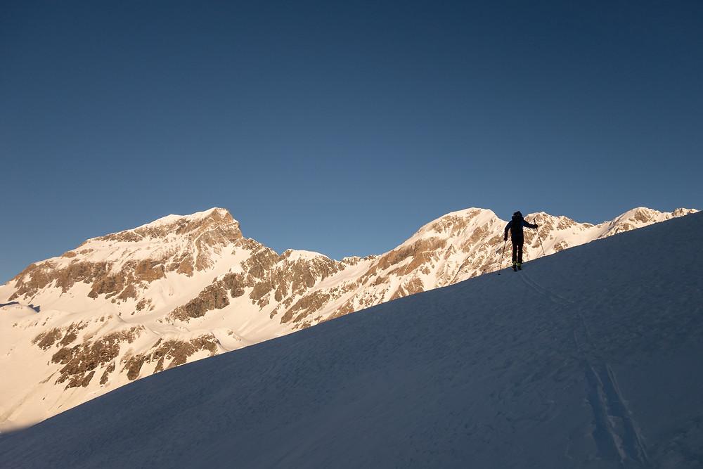 Skitour, Südtirol, Rotes Beil, Felbe, Bischofsmütze, Hintere Langspitze, Grabspitze