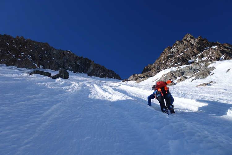 Nordwand Monte Disgrazia