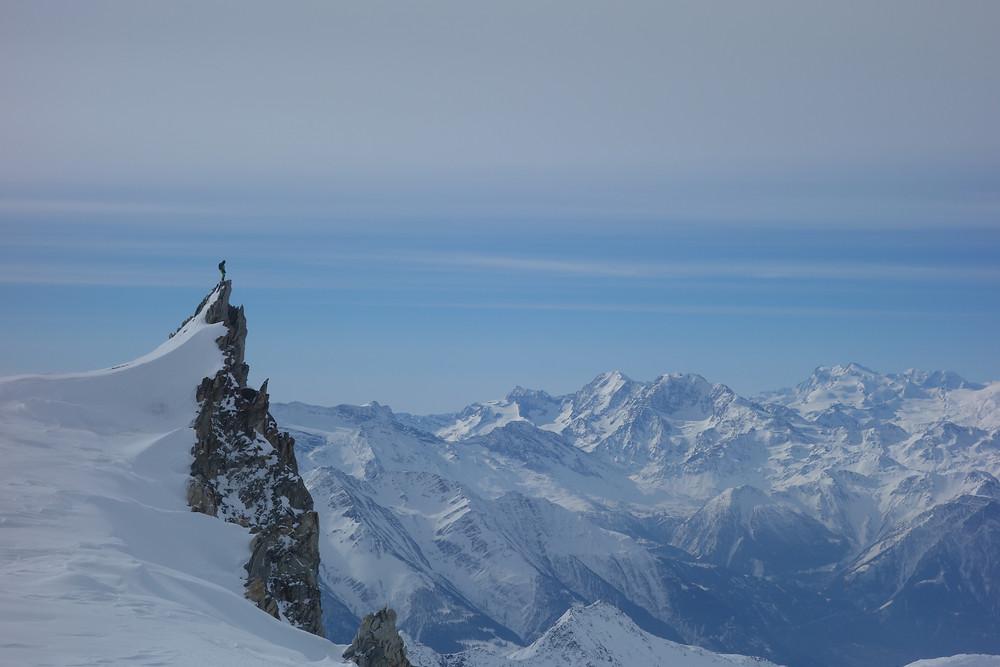 Skitour Aletsch Berner Oberland Großwannenhorn