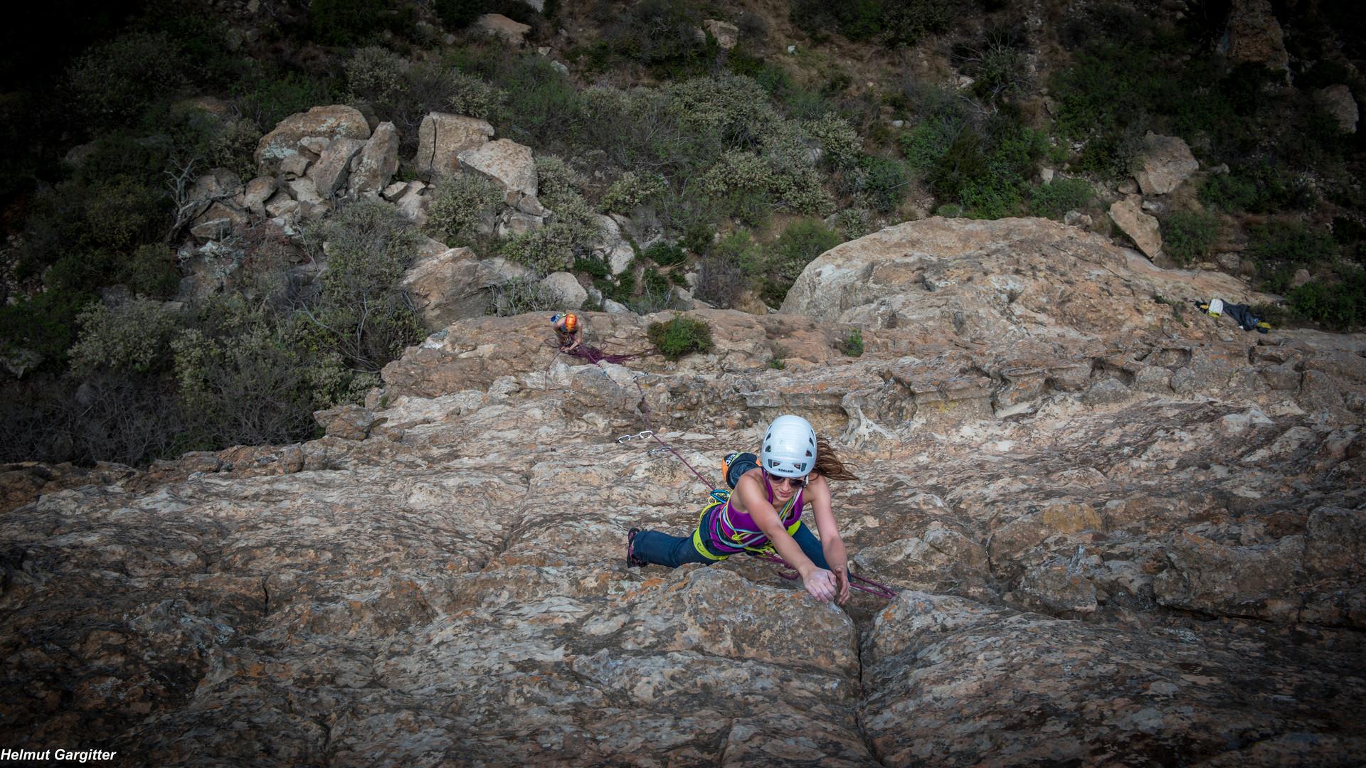 Der Fels in Südafrika
