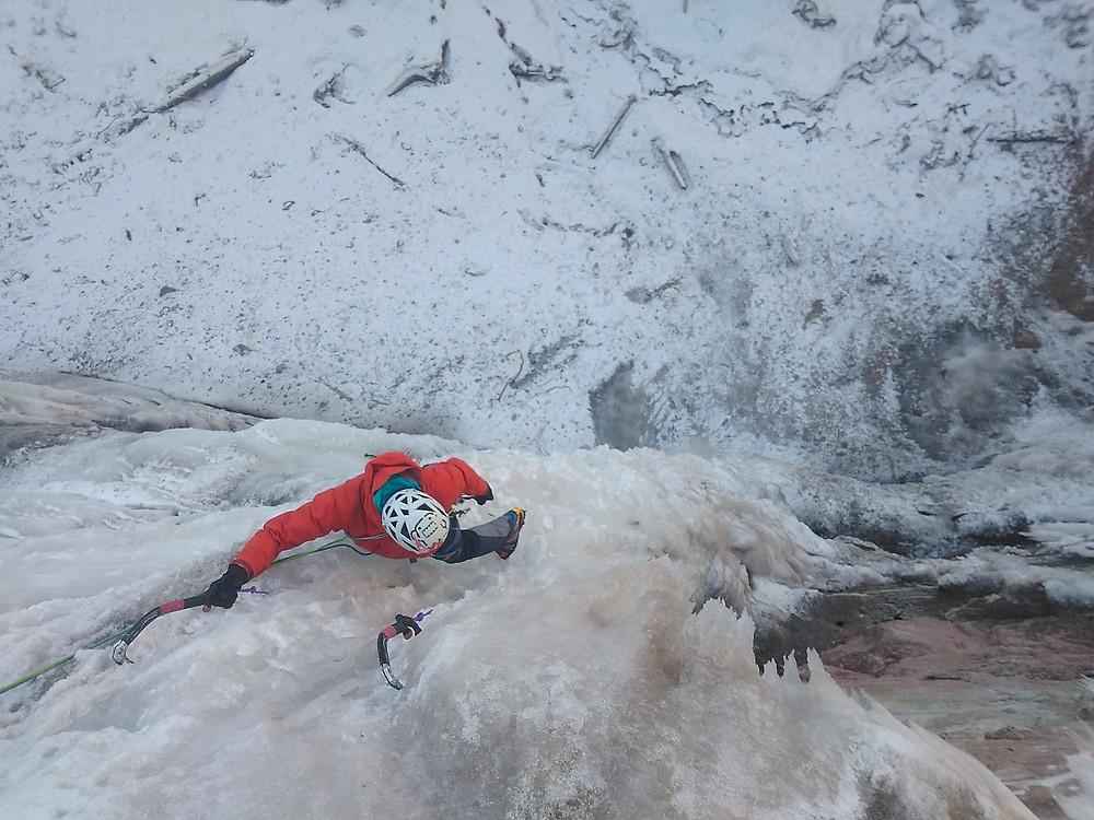 Eisklettern Südtirol Unterland Bletterbachschlucht Butterloch