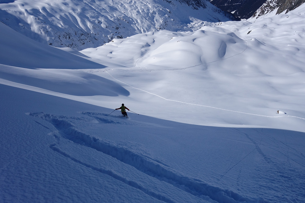 Skitour Ahrntal Südtirol Reinhart kleine Löffelspitze