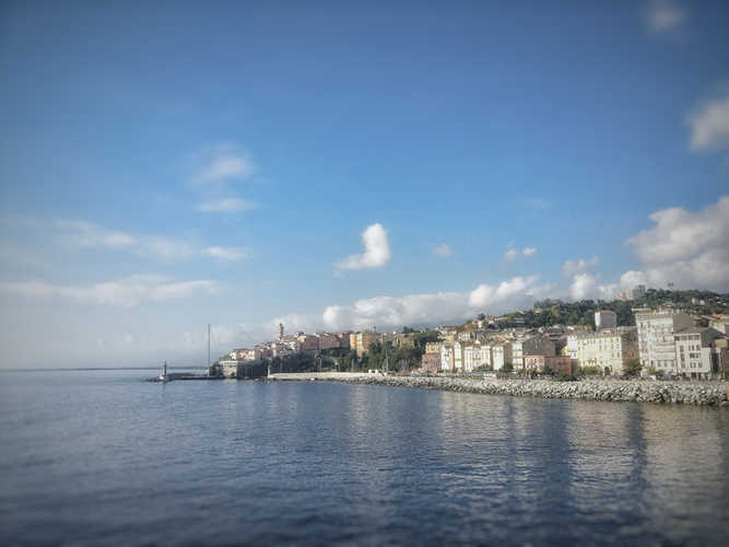 Bastia im Norden Korsikas