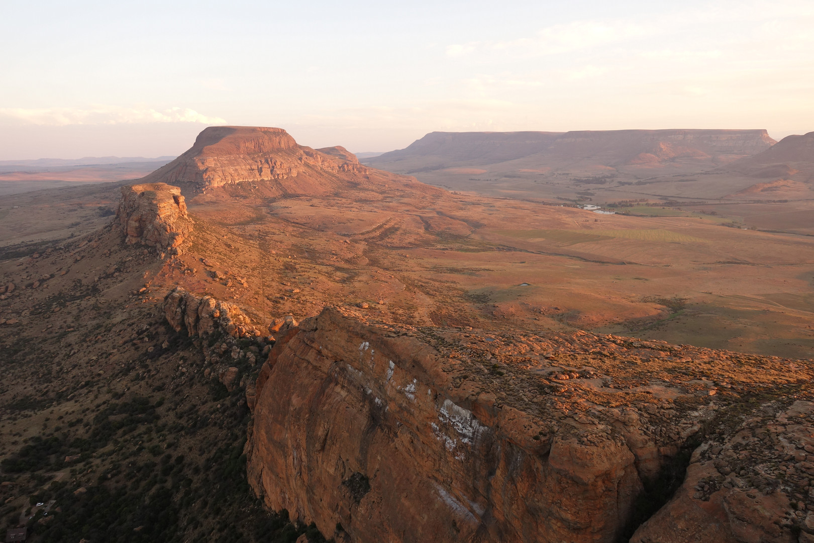 Alpinklettern in Südafrika