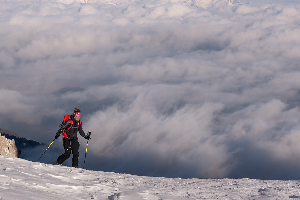 Skitour Dolomiten Furchetta Salieriesrinne