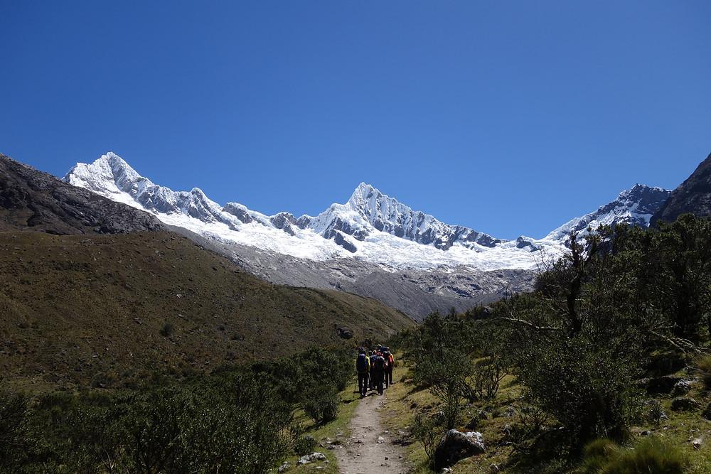 Alpamayo French Direct Peru Cordillera Blanca Topo schönster Berg der Welt