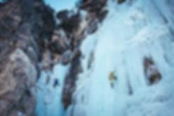 Eisklettern Südtirol Dolomiten Rosslahne Prags