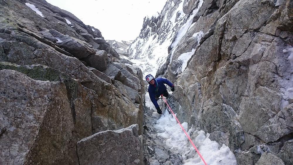 Nordwand Wildgall Seltene Erden Südtirol Alpin