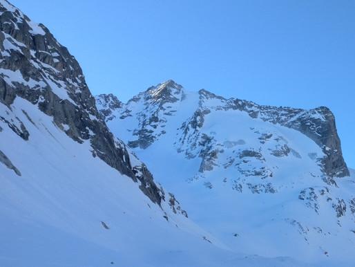 Cima di Rosso - Nordwand (50°)