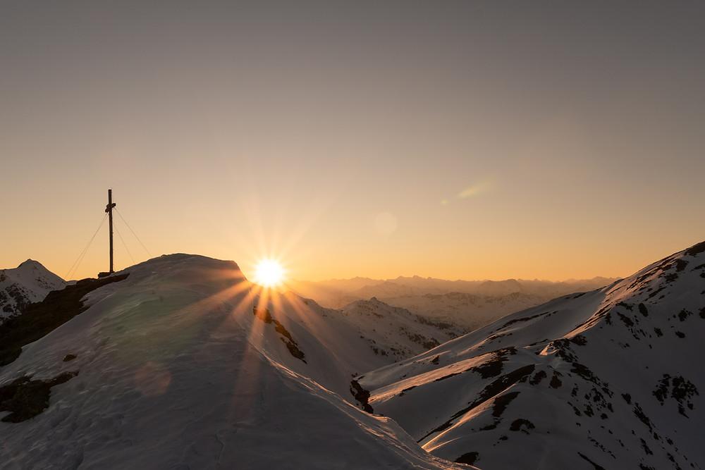 Skitour Sarntaler Alpen Kassianspitze Lorenzispitze Plankenhorn Gaishorn