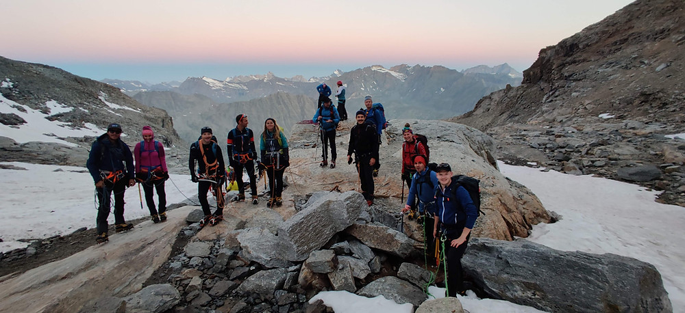 Hochtour Gran Paradiso Wegbeschreibung Viertausender Topo