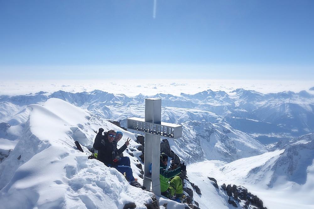Skitour Aletsch Berner Oberland Finsteraarhorn
