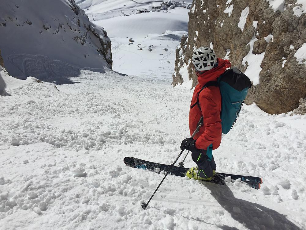 Dolomiten Skitour Rinne Joel Rinne Col Alton Holzer Canale