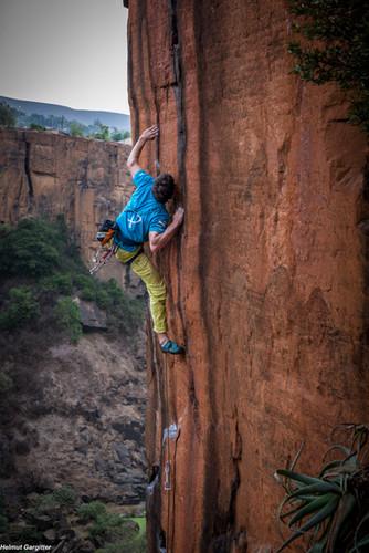 Klettern in Waterval Boven - Südafrika